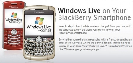 Blackberry Live Messenger