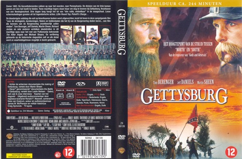 Gettysburg DVD Cover Both Page